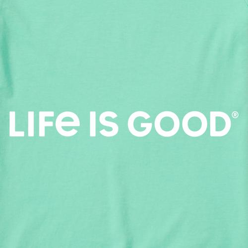 Life is Good - Wordmark Horizontal Crusher Tee