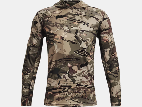 Under Armour - Men's - US Iso-Chill Brush Line Hoodie - Forest