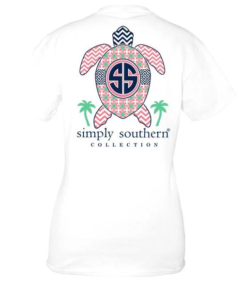 Simply Southern - Short Sleeve T-Shirt - Original Turtle