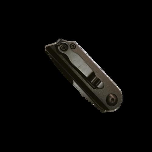 "Bear and Son 2.5"" Auto Bold Action XIV Black Folding Knife"