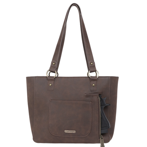 Montana West Trinity Ranch Hair-On Leather Collection, Concealed Handgun Tote