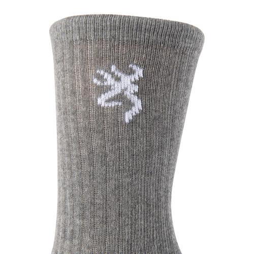 Browning Men's Everyday Crew Socks 3-Pack