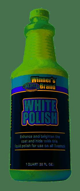 Weaver White Polish Quart