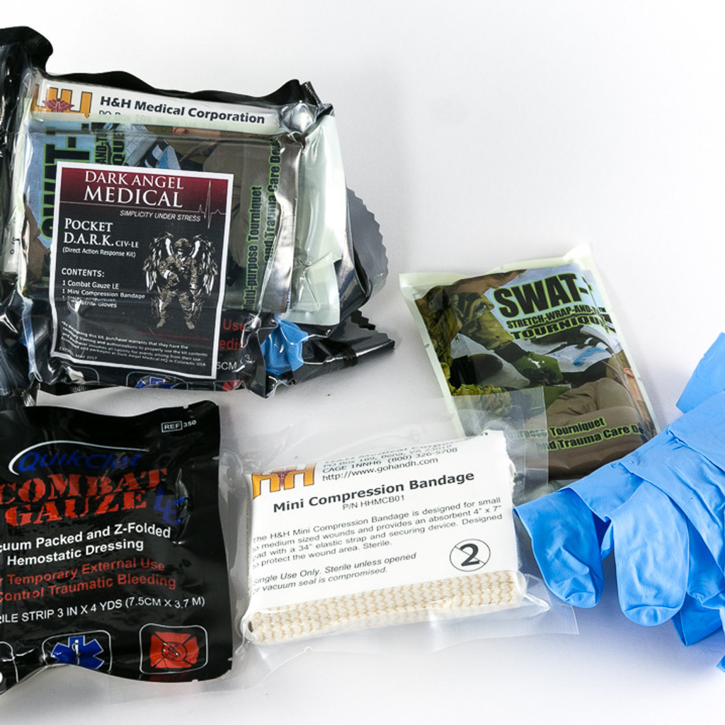 Pocket D.A.R.K. Trauma Kit Refill/Insert