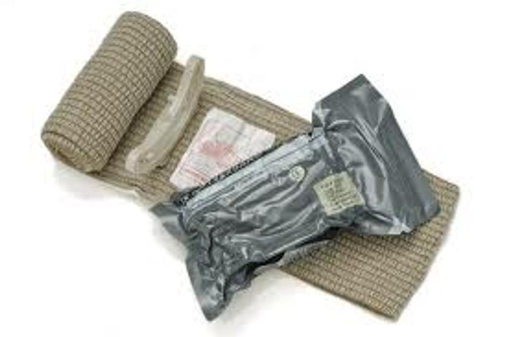 """4"""" Israeli Bandage (""""Izzy""""/Emergency Bandage)"""
