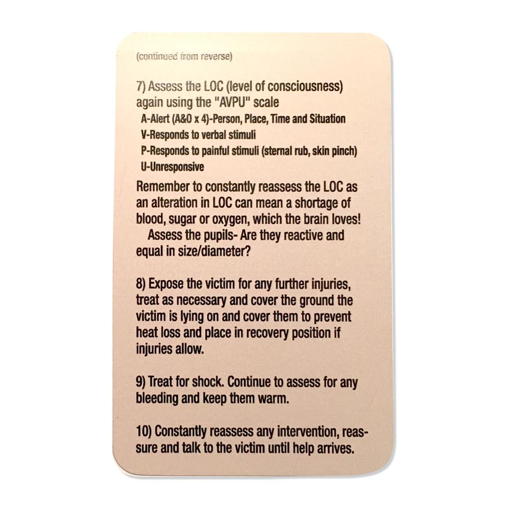 Tac Med Tip Cards