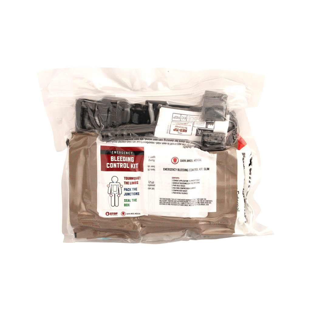 Emergency Bleeding Control Kit: Slim