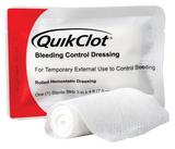 QuikClot Bleeding Control Dressing 4'
