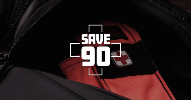 Save 90