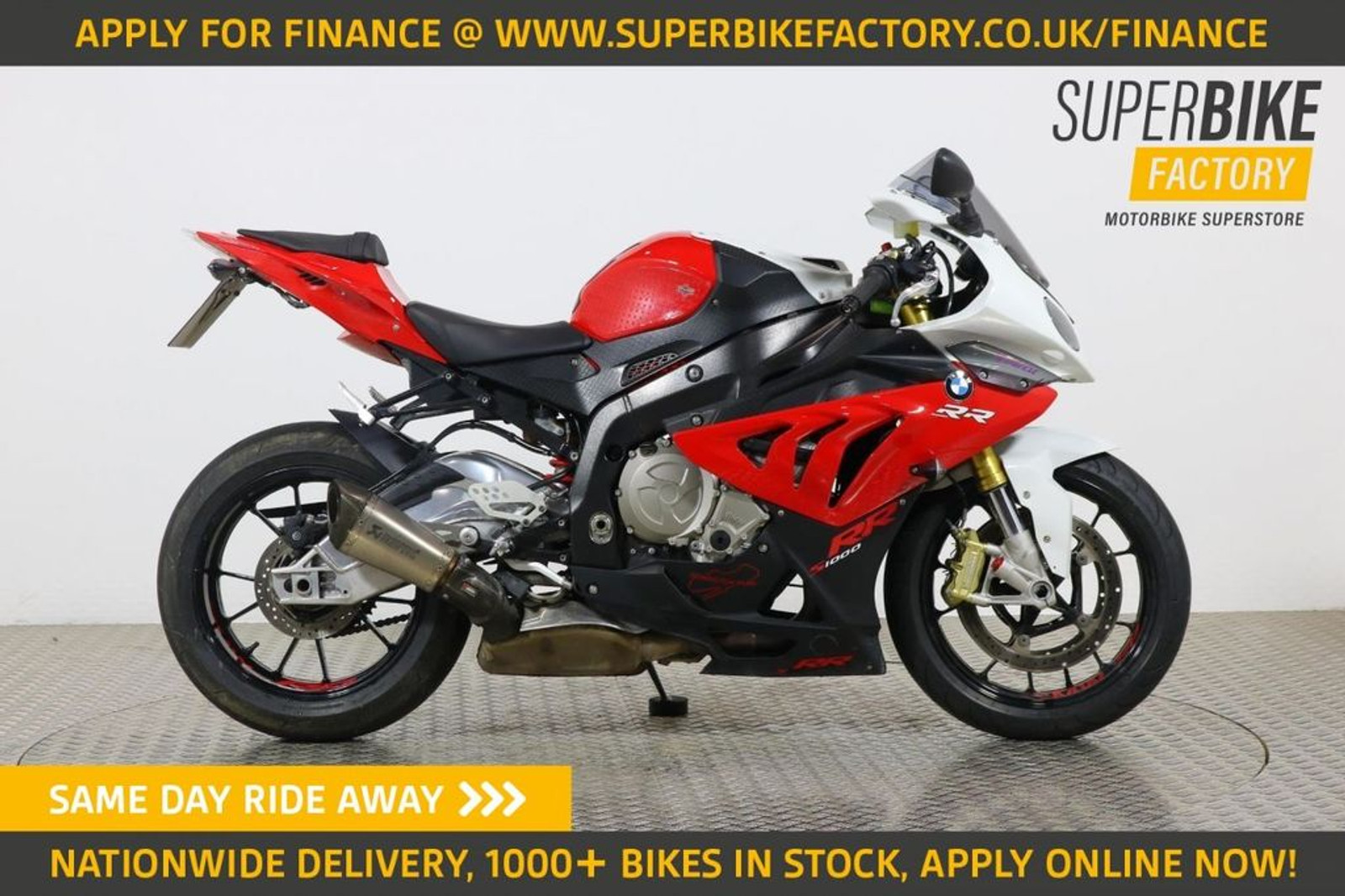 2012 Bmw S1000rr White With 17126 Miles Used Motorbikes Dealer Macclesfield Cheshire The Superbike Factory