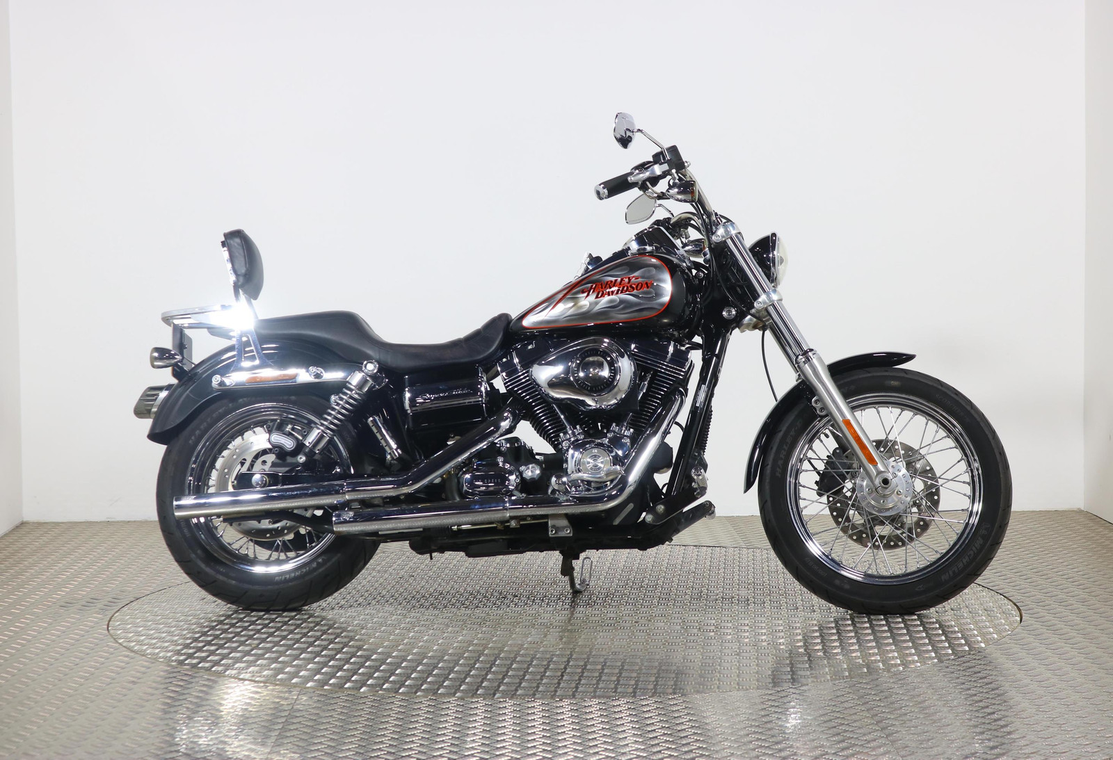2009 Harley Davidson Dyna Fxdc Dyna Super Glide Custom Black With 9961 Miles Used Motorbikes Dealer Macclesfield Cheshire The Superbike Factory