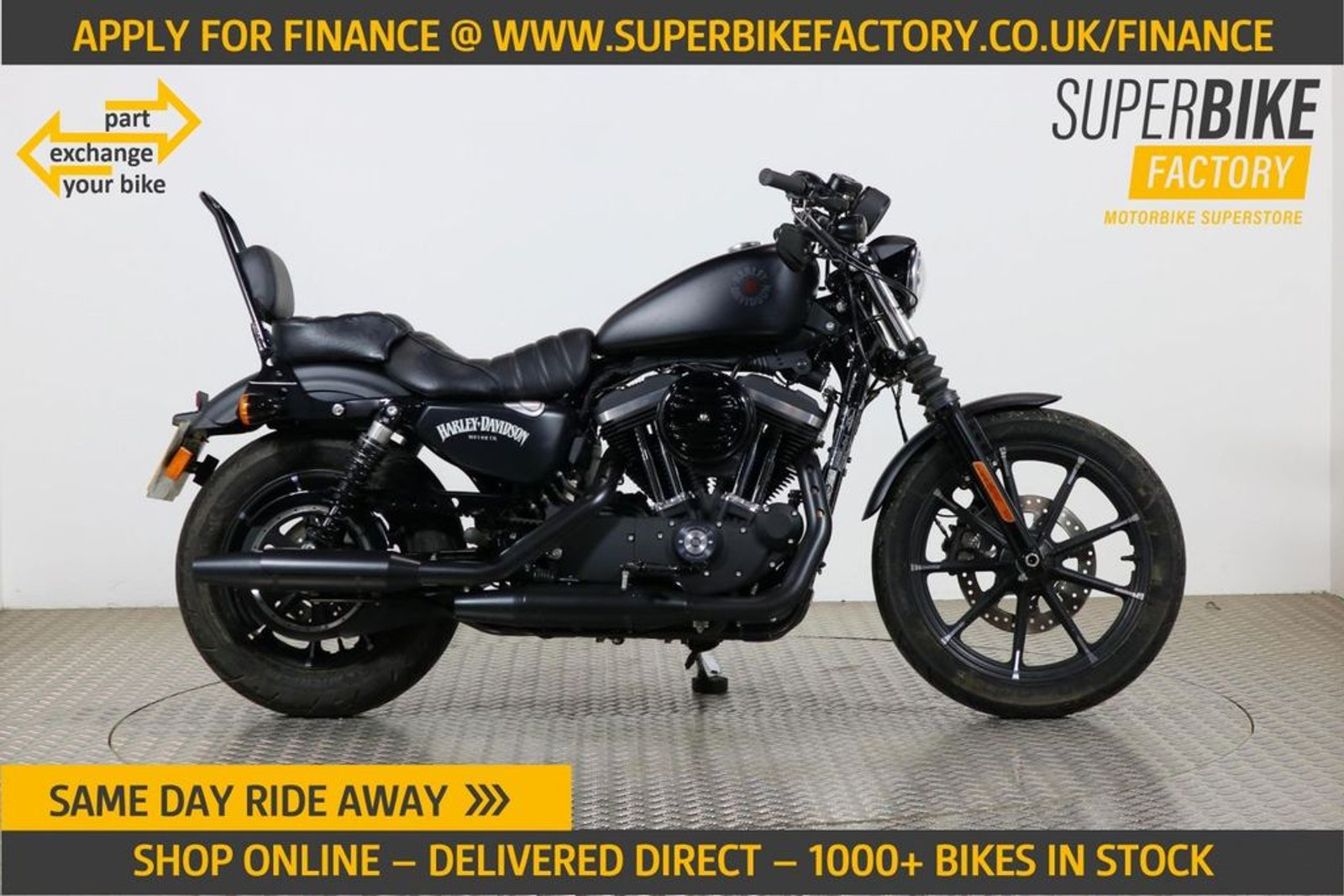 2020 Harley Davidson Sportster Iron 883part Ex Your Bike With 593 Miles Used Motorbikes Dealer Macclesfield Cheshire The Superbike Factory
