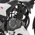 Keeway 125 motorbike in white from Superbike Factory