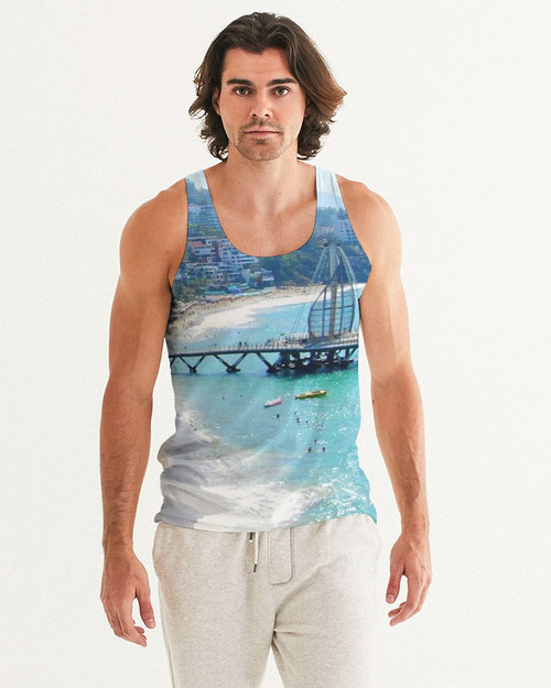Angel de Puerto Vallarta Men's Tank