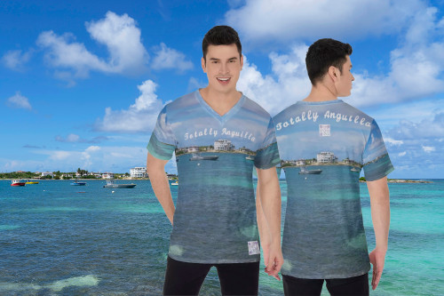 Totally Anguilla Island Harbour T Shirt