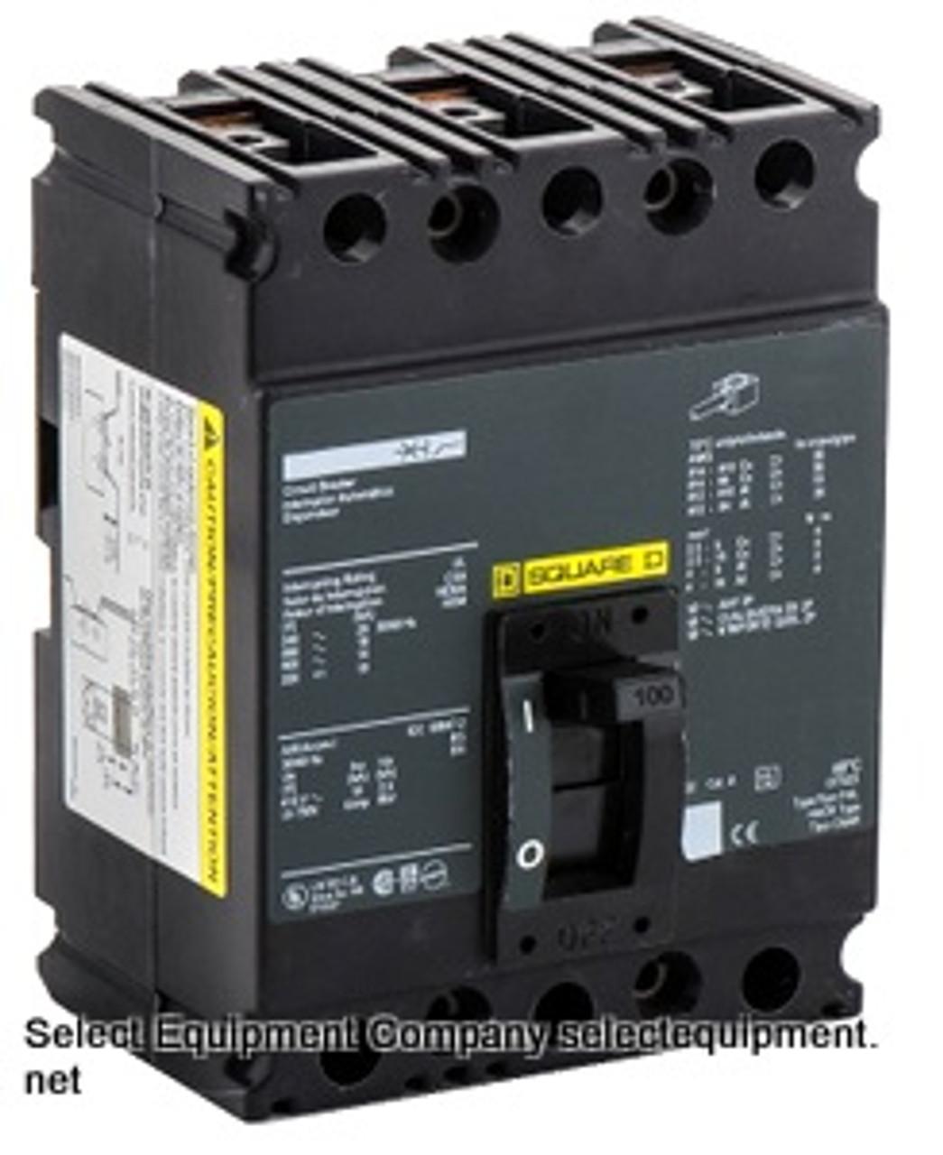 Square D 100 Amp FHL36000M4200 600 V Breaker