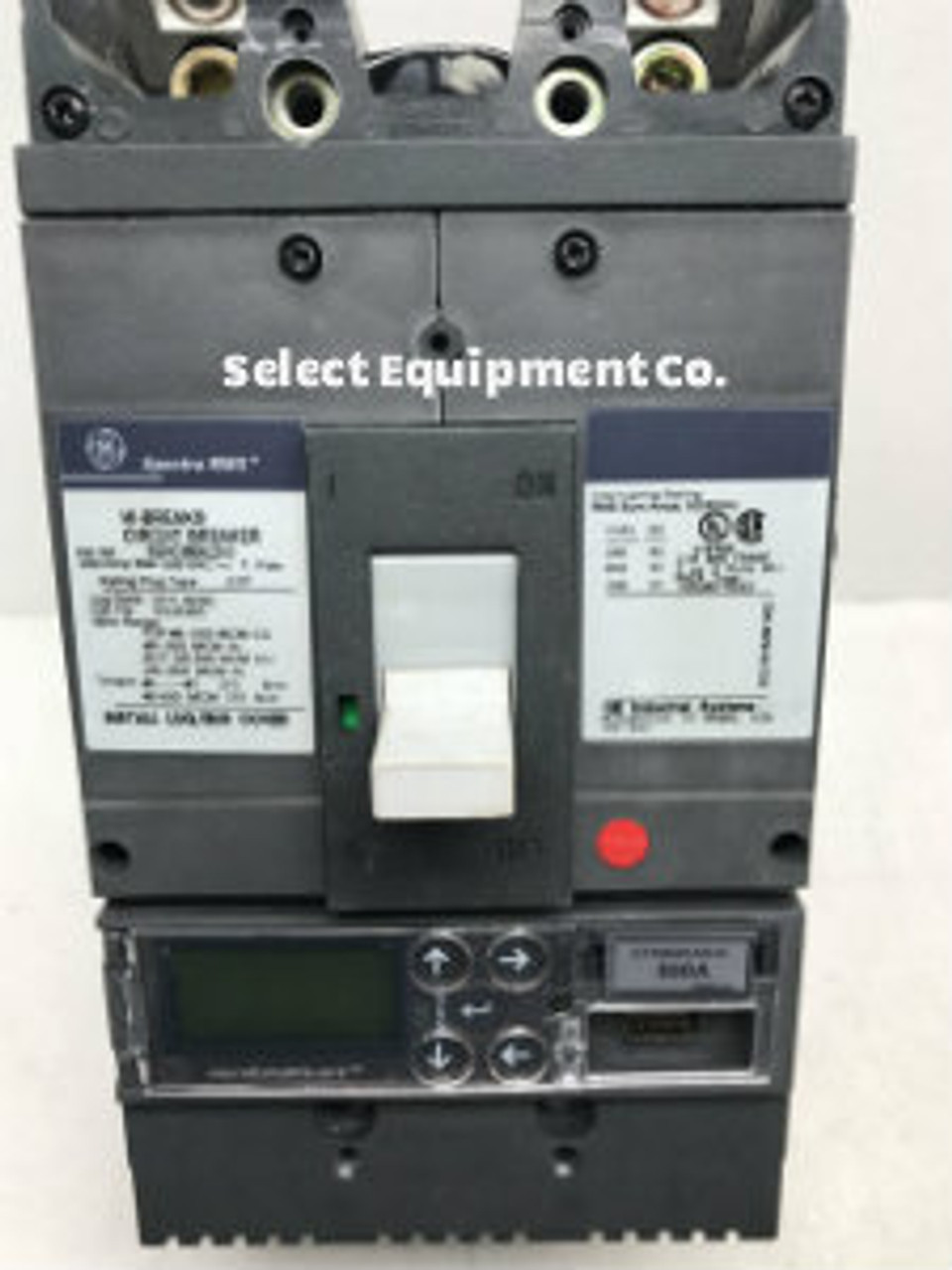 GE Spectra RMS Circuit Breaker, SGHC3606L3XX | Select Equipment on