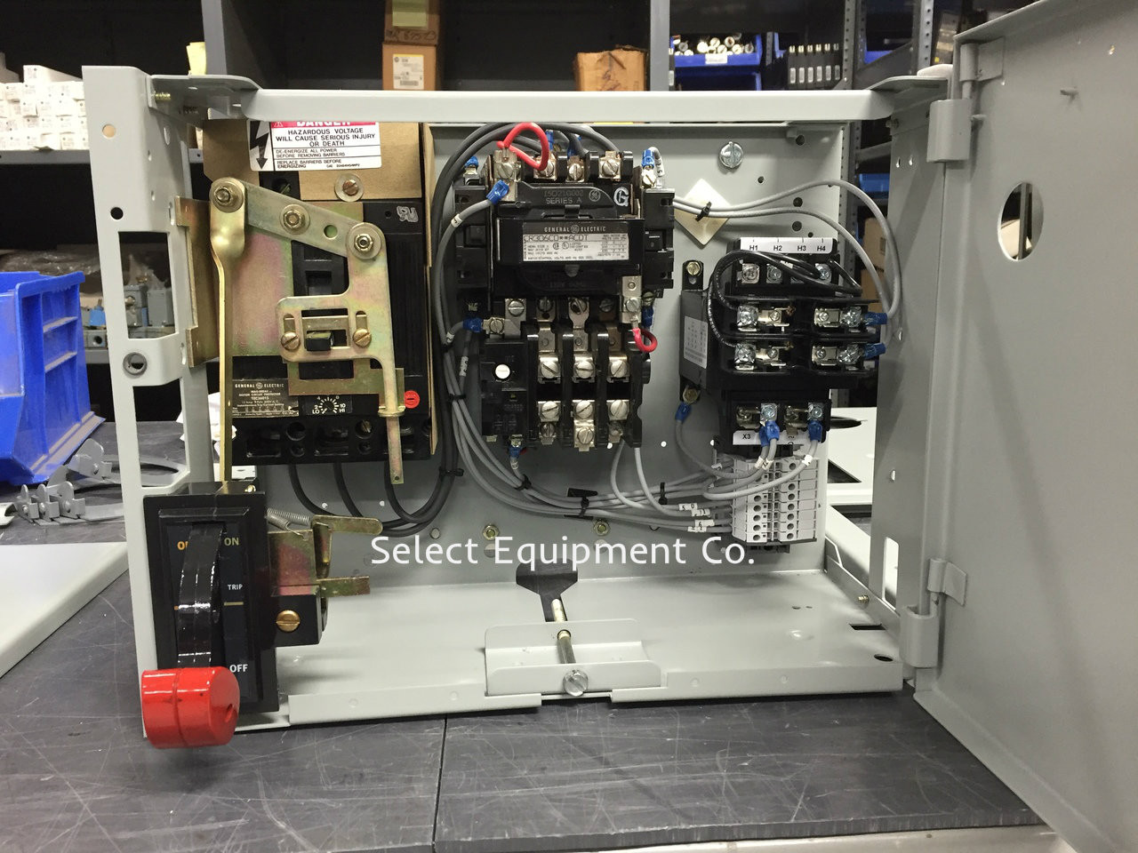 Ge Motor Control Nema Nonreversing Magnetic Starter Cr306 Wiring Diagram 8000 Line Center Mcc Buckets