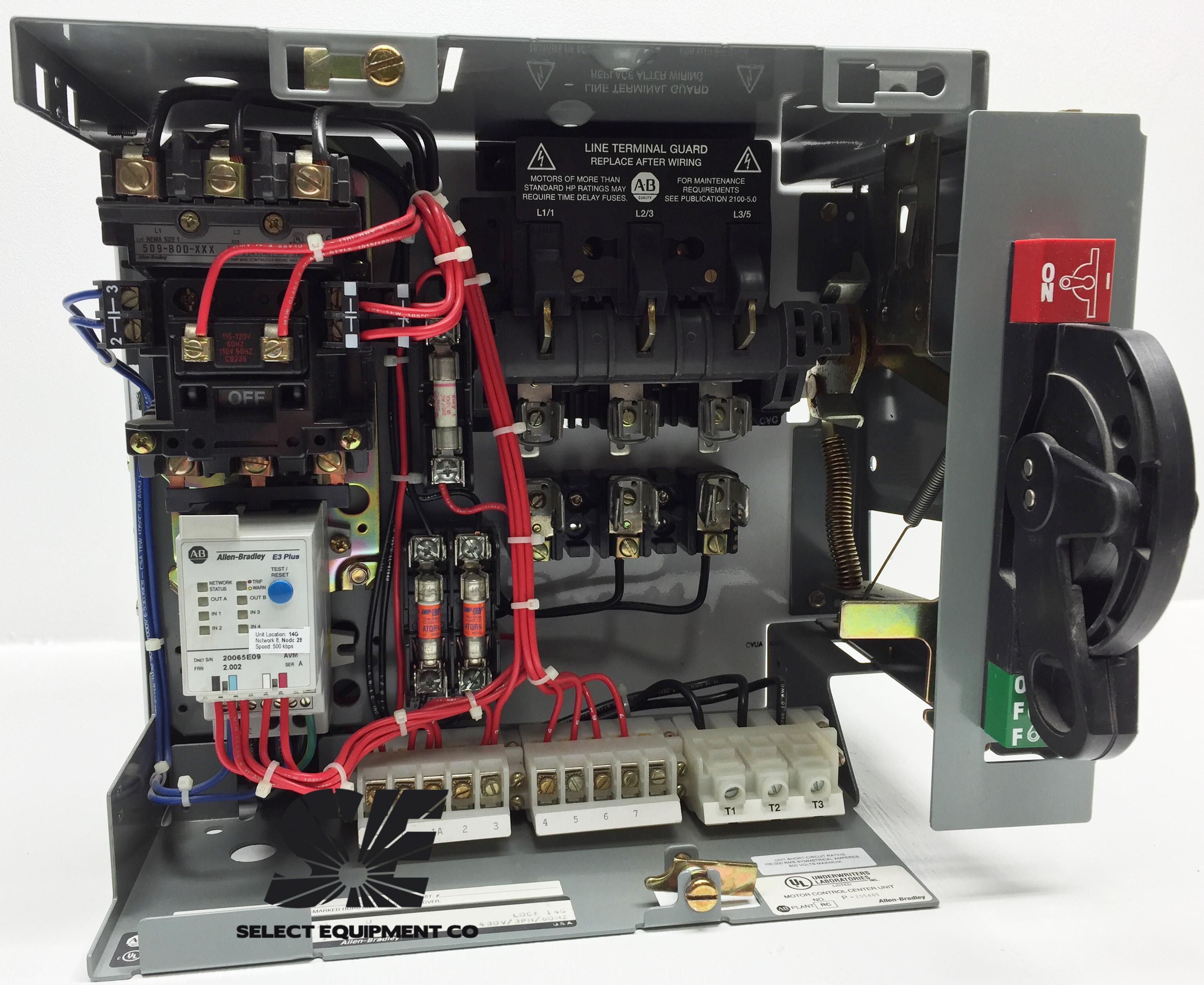 193-EC1CB Allen Bradley overload relay