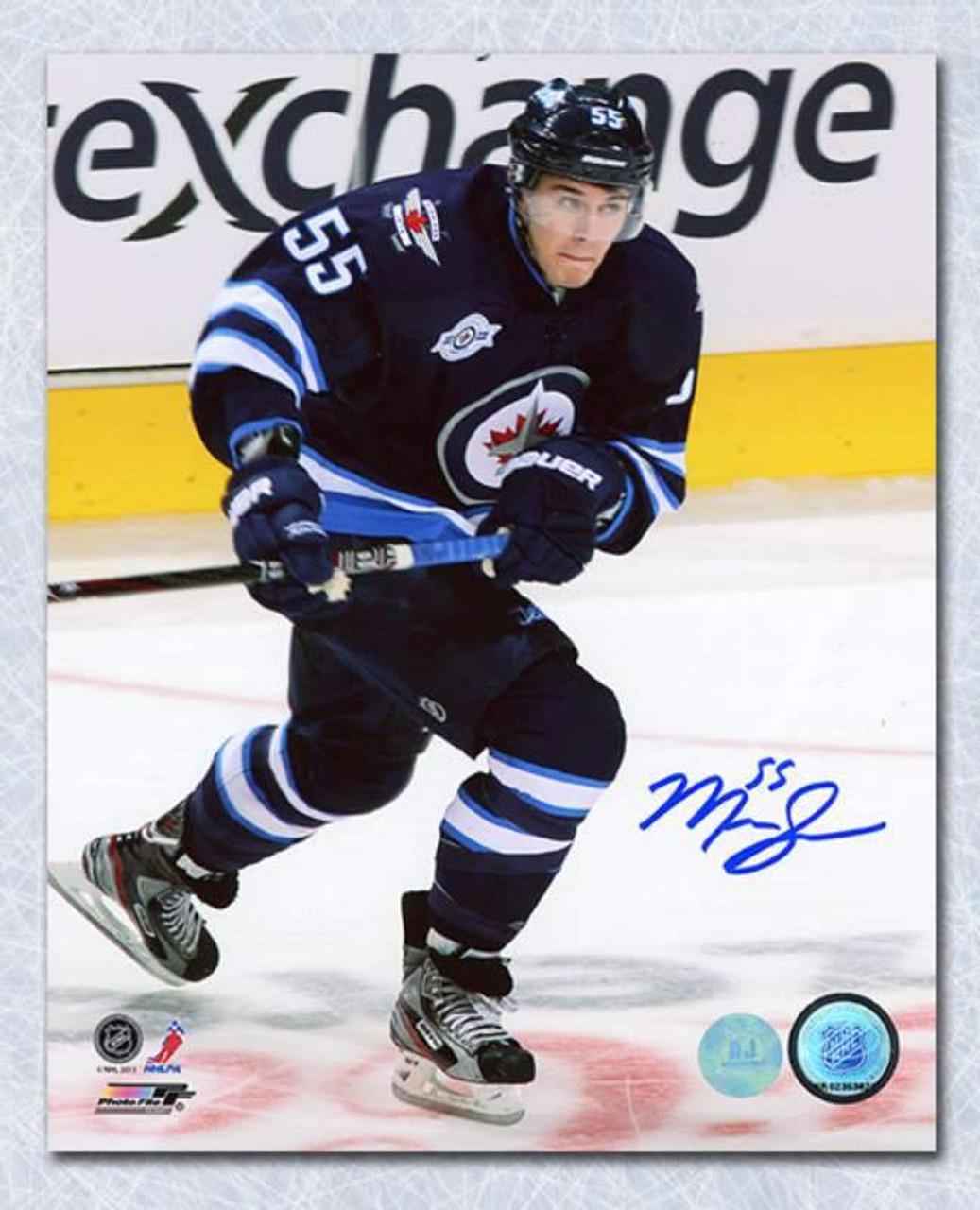 promo code 476ec de105 Mark Scheifele Winnipeg Jets Autographed 8x10 Photo