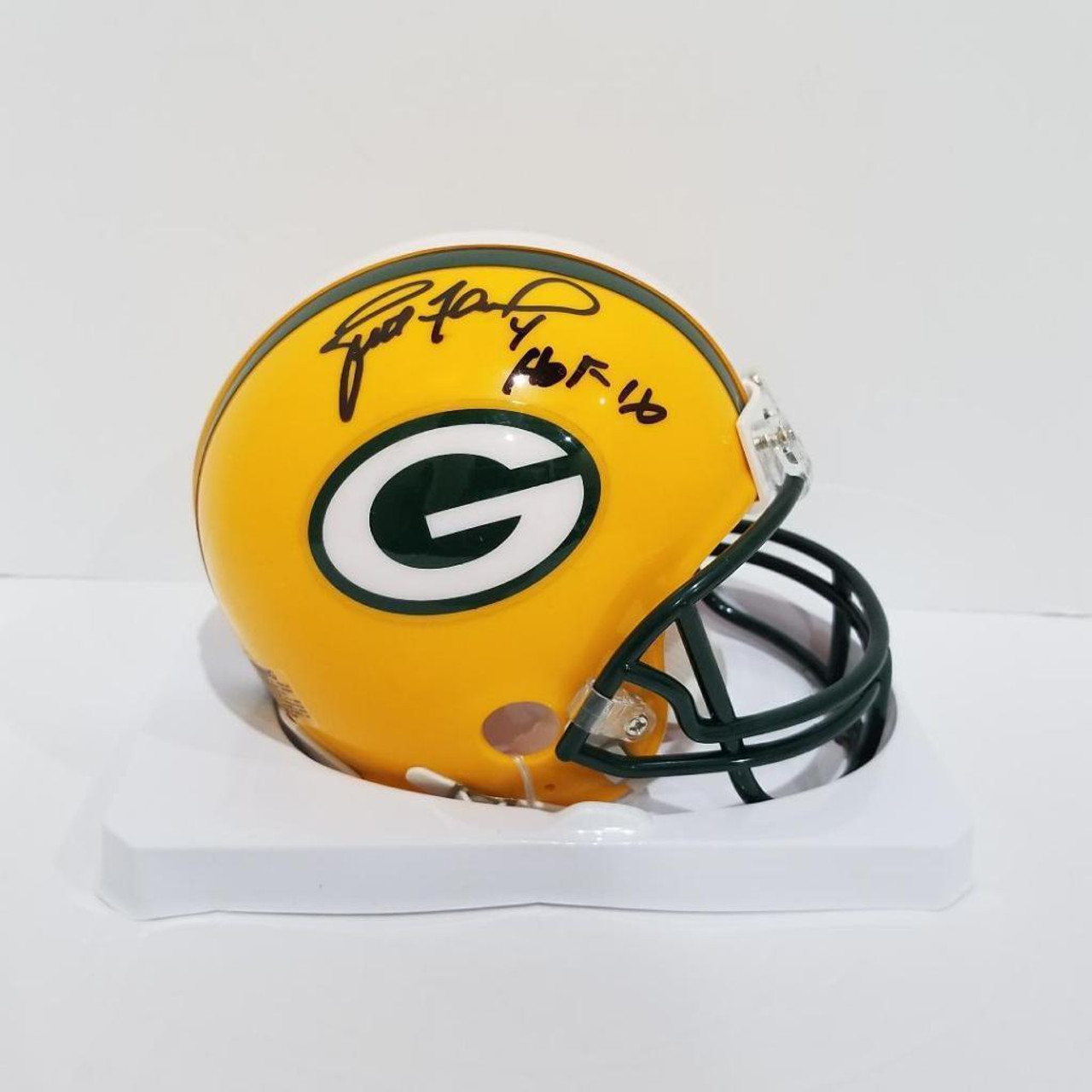 new style 6c76f 4dddf Brett Favre Green Bay Packers Autographed with