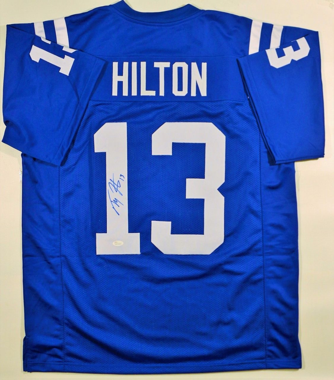 5e042f5dd3c Copy of TY Hilton Indianapolis Colts Autographed Custom NFL Football Jersey  - Maverick Autographs and Collectibles