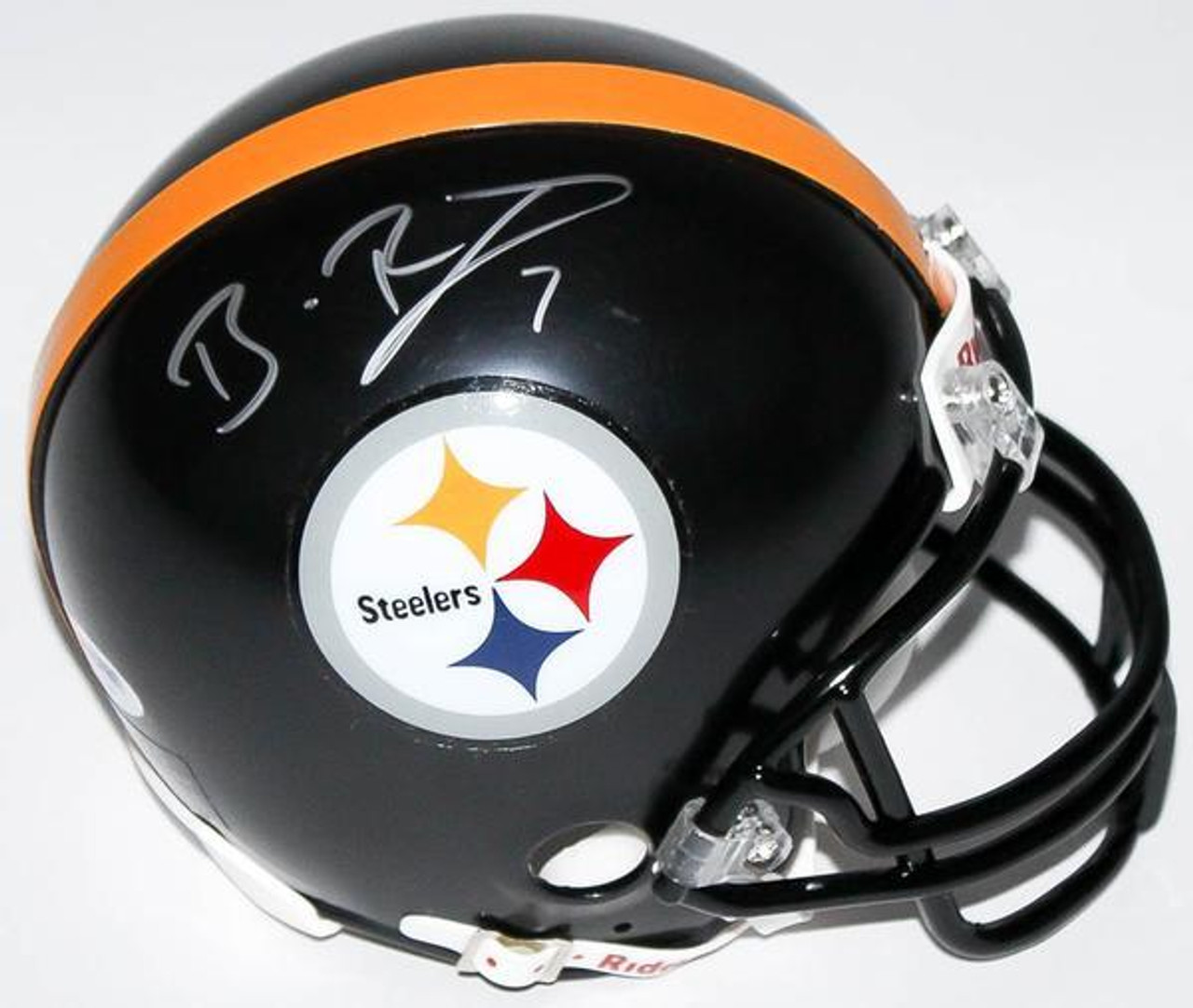 Ben Roethlisberger Pittsburgh Steelers Autographed Mini Football Helmet -  Maverick Autographs and Collectibles c30d06ad2
