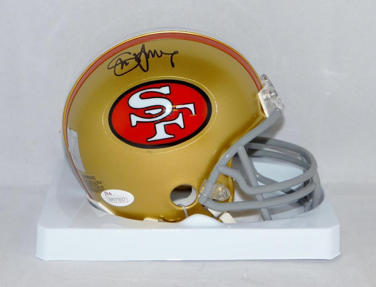 ebd72a073 Steve Young San Francisco 49ers Autographed Mini Football Helmet - Maverick  Autographs and Collectibles
