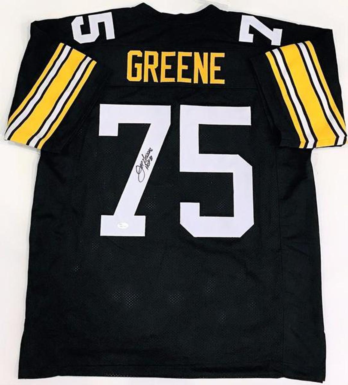 Mean Joe Greene Pittsburgh Steelers Autographed NFL Custom Football jersey