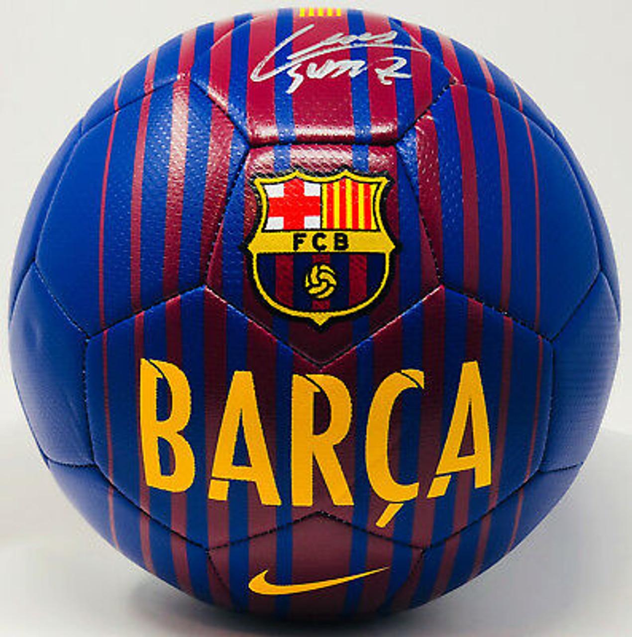 La Liga: Luis Suarez Barcelona FC La Liga Autographed Soccer Ball