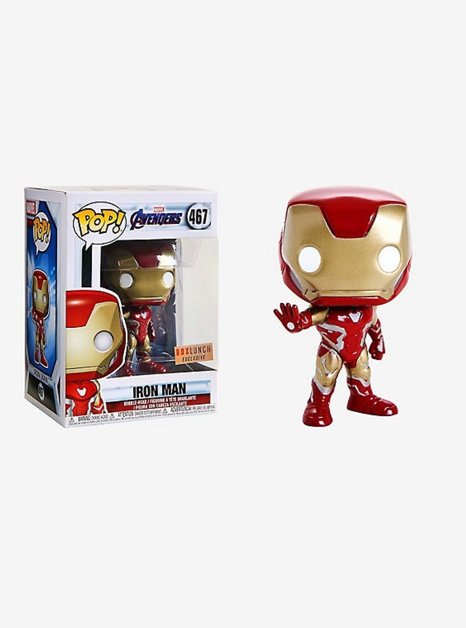 Funko POP Vinyl Marvel IRON MAN BoxLunch Avengers Infinity War Endgame #467