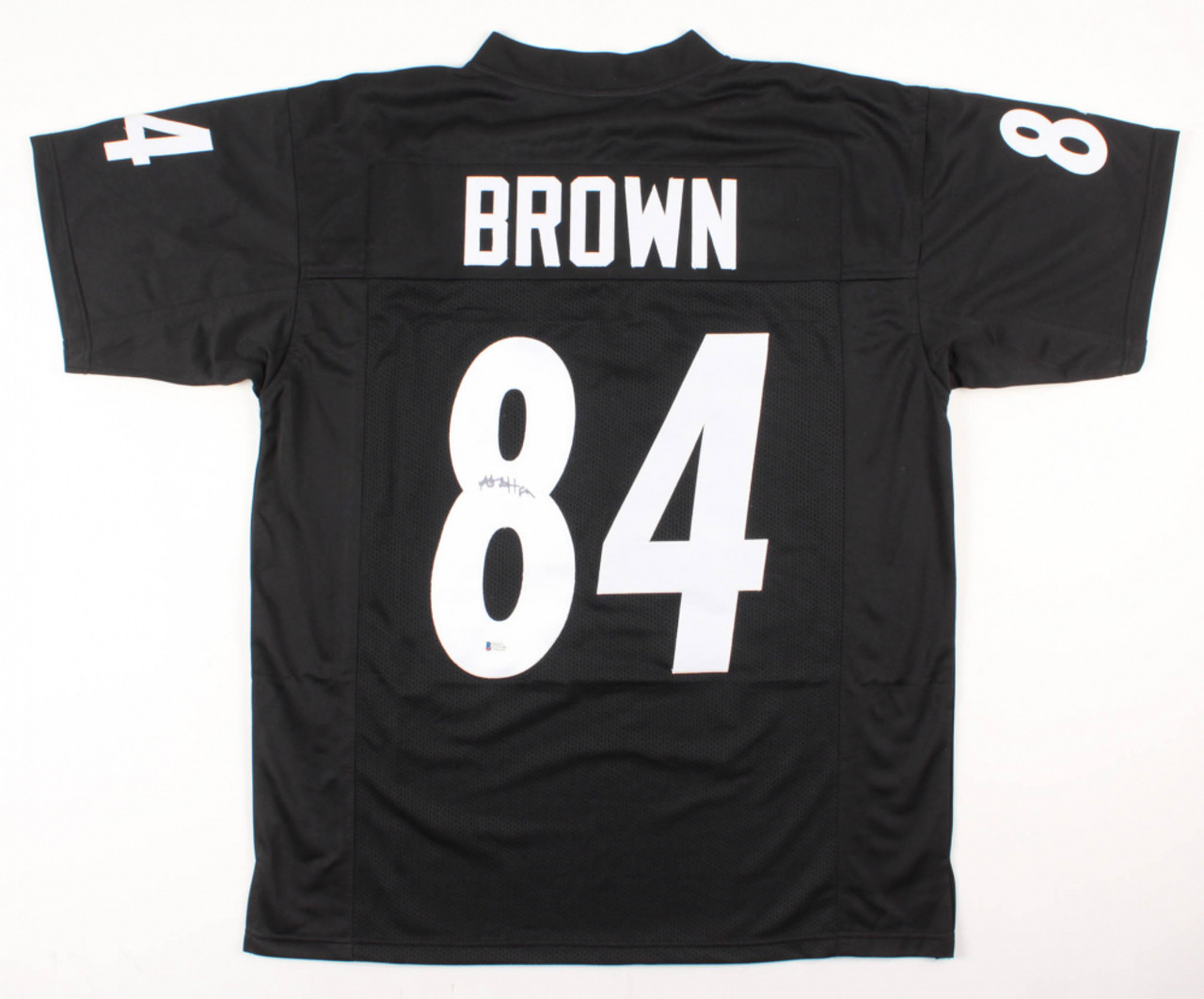 sale retailer 860f2 e48d4 Antonio Brown Oakland Raiders Autographed Custom Football Jersey
