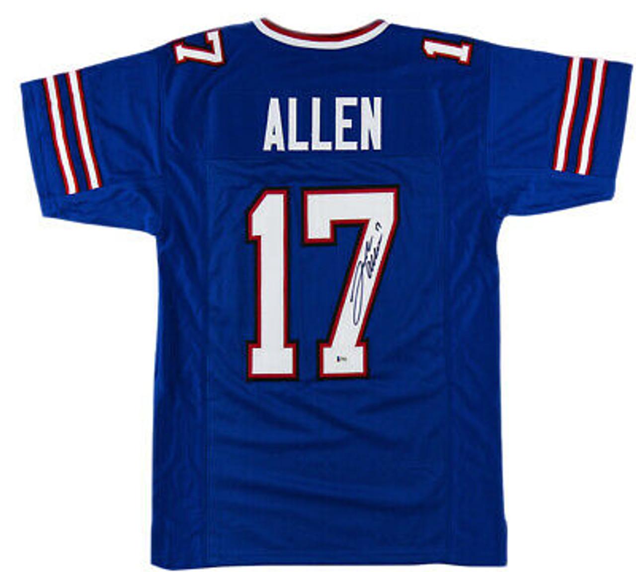 Josh Allen Buffalo Bills Autographed Custom NFL Football Jersey
