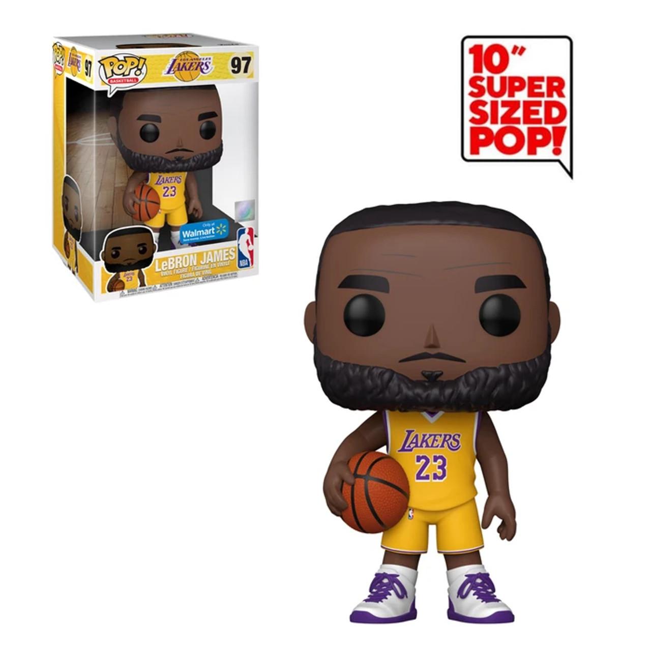 LeBron James #97 NBA Los Angeles Lakers 10 Inch Walmart Exclusive Funko Pop
