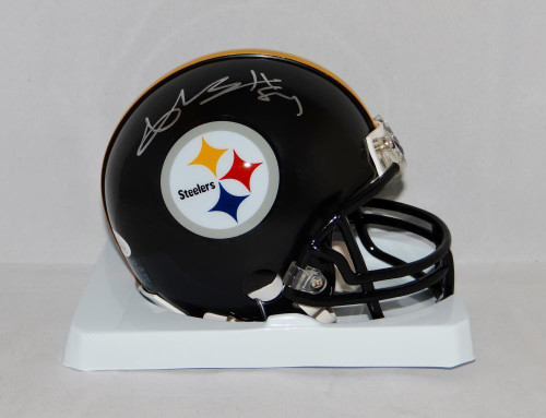 Ben Roethlisberger Pittsburgh Steelers Autographed Mini Football ... 3eded2e55