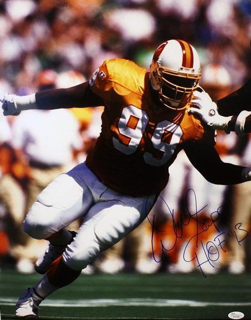 finest selection 74de1 cc4e9 Warren Sapp Tampa Bay Buccaneers Autographed Creamsicle Throwback Jersey  16x20 Photo