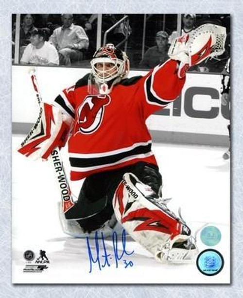 save off 0b91b c9de8 Martin Brodeur New Jersey Devils Autographed Glove Hand Save 8x10 Photo
