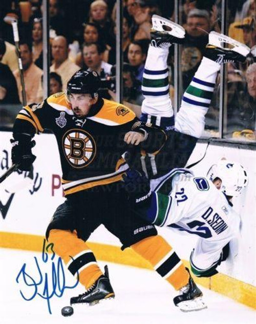 Brad Marchand BostonBruins Autographed Flipping Sedin 16x20 Photo ... d8c58138d