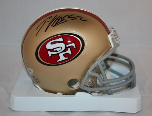 e145e4b50 Steve Young San Francisco 49ers Autographed Mini Football Helmet ...