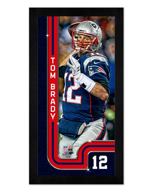 f8a45be2e81 Tom Brady New England Patriots Mini Framed Photo - Maverick ...