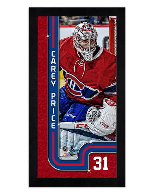 competitive price d852a 164fa Carey Price Montreal Canadiens Mini Framed Photo