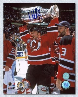 brand new ec56a f5b2e Martin Brodeur New Jersey Devils Autographed Red Jersey ...