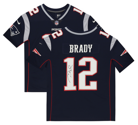 Coming Soon: Tom Brady New England Patriots Autographed Nike Limited Navy Jersey