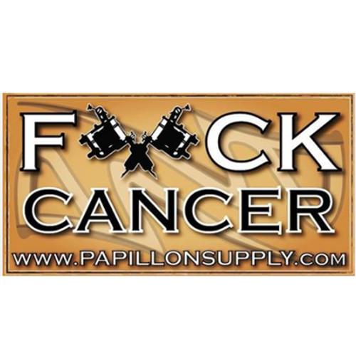 """""""F*ck Cancer"""" Bumper Sticker-Proceeds Benefit St. Judes Cancer Research"""