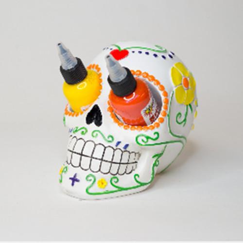 Candy Skull Ink Holder w/ Ink