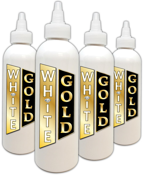 White Gold Ink 8 oz.