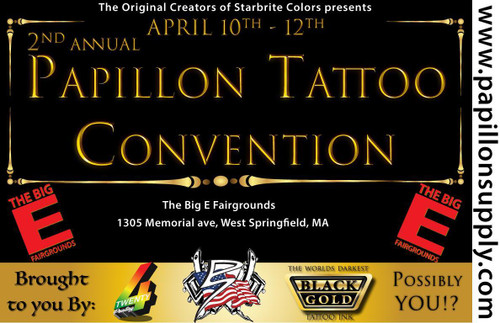 Day Pass Papillon Tattoo Convention 2021