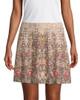 Haute Hippie Grommet Floral Skirt~1411334917