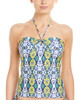 Shoshanna Turkish Ikat Bandeau Tankini Top~1414778725