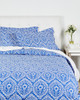 Whit and Alex Island Damasked Duvet Set~3030704286